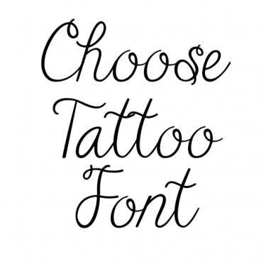 Tattoo Fonts For Women Girly Font Generator Cursive Tattoos