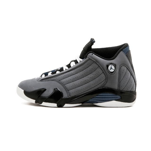6e98affd90c1 Jordan Retro 14 Men Basketball shoes Black Grey Black Toe Thunder Wolf Grey  Athletic Outdoor Sport Sneakers 41-46