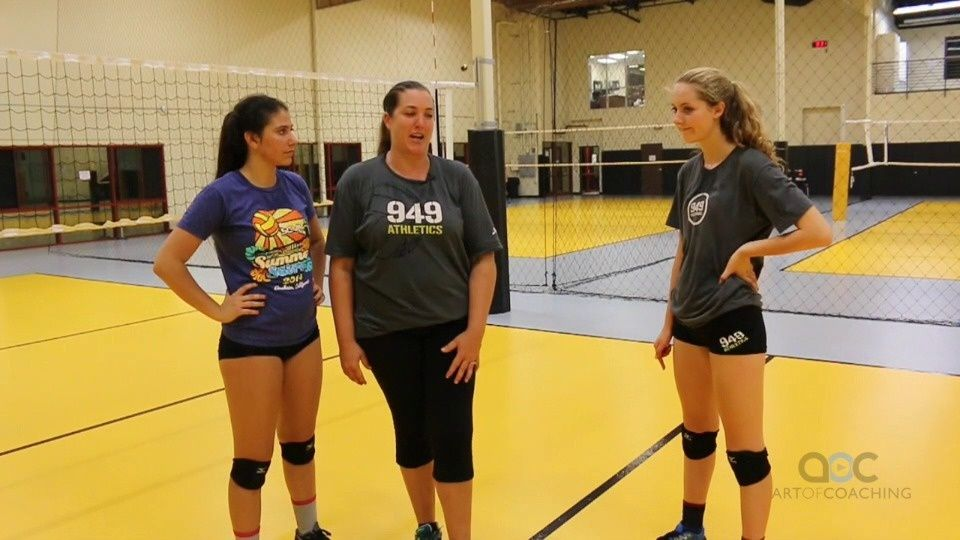 A 3 Step Slide Approach With Cary Wallin The Art Of Coaching Volleyball Coaching Volleyball Volleyball Volleyball Workouts