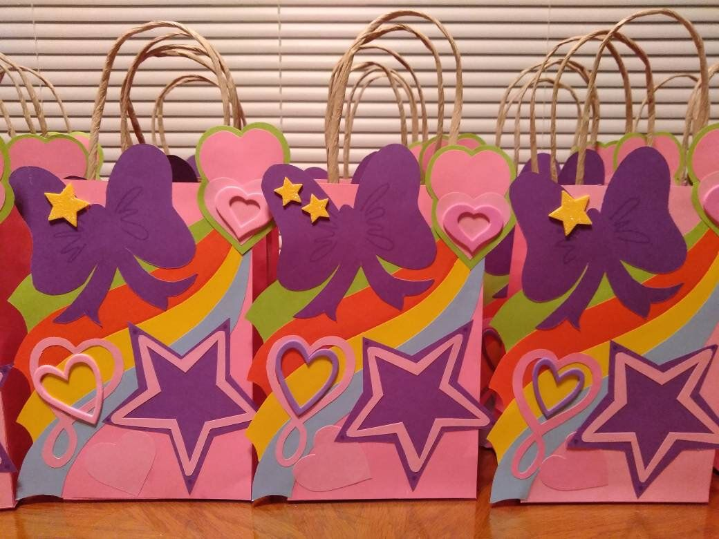 Barbie Birthday Party TWO Pks of 8 Goody Treat Favor Bags