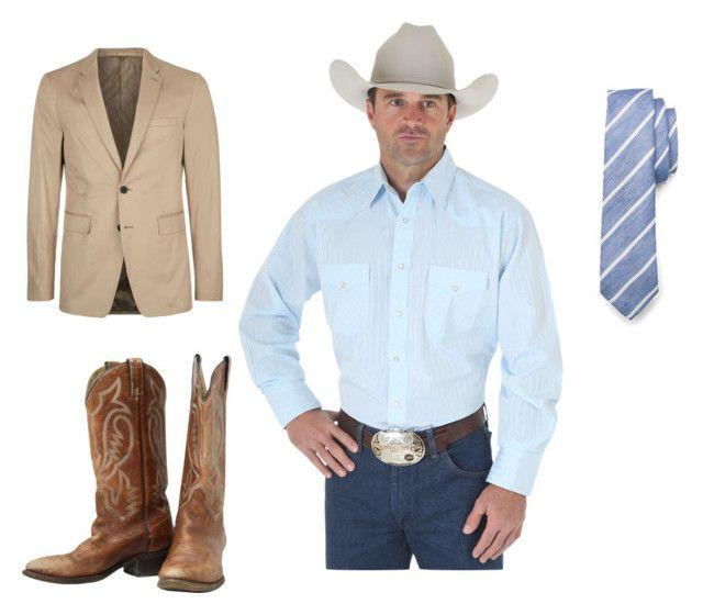 Western formal wear, Mens western wear