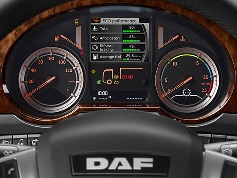 DAF XF Euro 6 Interior instrument panel | Trucks | Interior