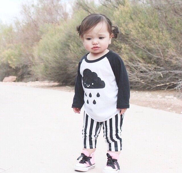 ba8b621c9637c7 DESCRIPTION A kawaii cute baseball raglan style top with our favorite cloud!  100% cotton DESIGNER Designed in Canada. Click to view more items by Whistle  & ...