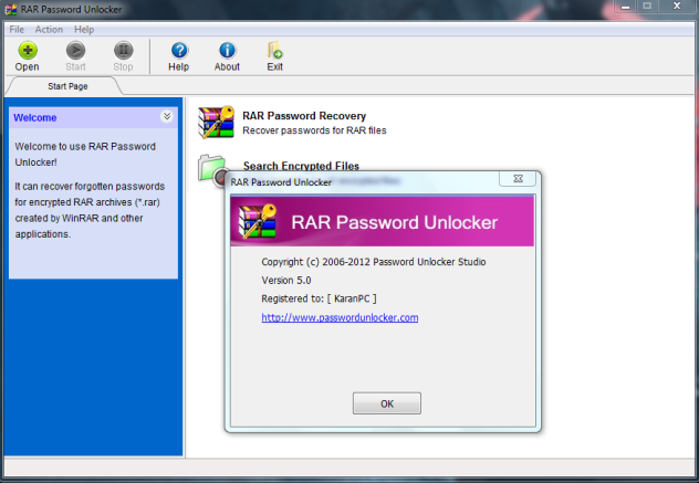 decrypt winrar password free