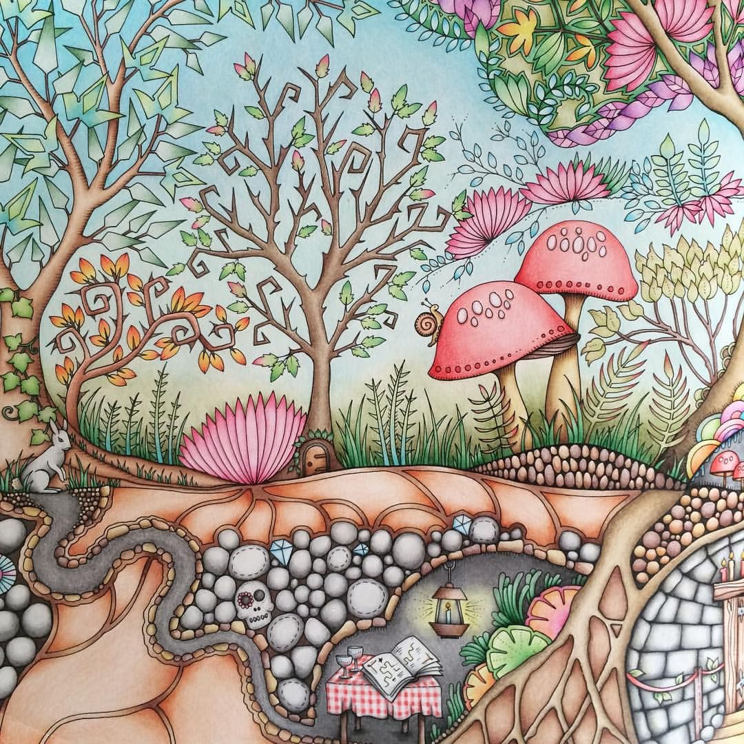 Pin By Nadia On The Secret Garden Colouring Book