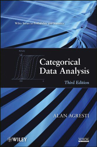 Do You Search For Categorical Data Analysis Categorical Data Analysis Is One Of Best Books For Now Get This Book Now In 2020 Data Analysis Best Books To Read Analysis