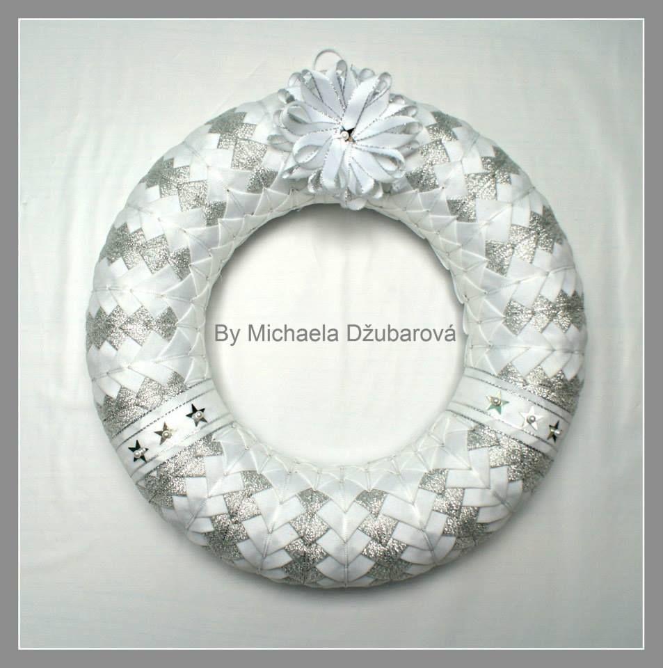 2c0dc5e9b Vianočný veniec 28cm   Patchwork   Vianoce, Veľká noc, Dekorácie