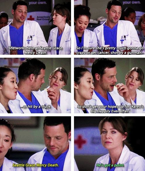 So don't get your hopes up for Karev's Big Happily Ever After.