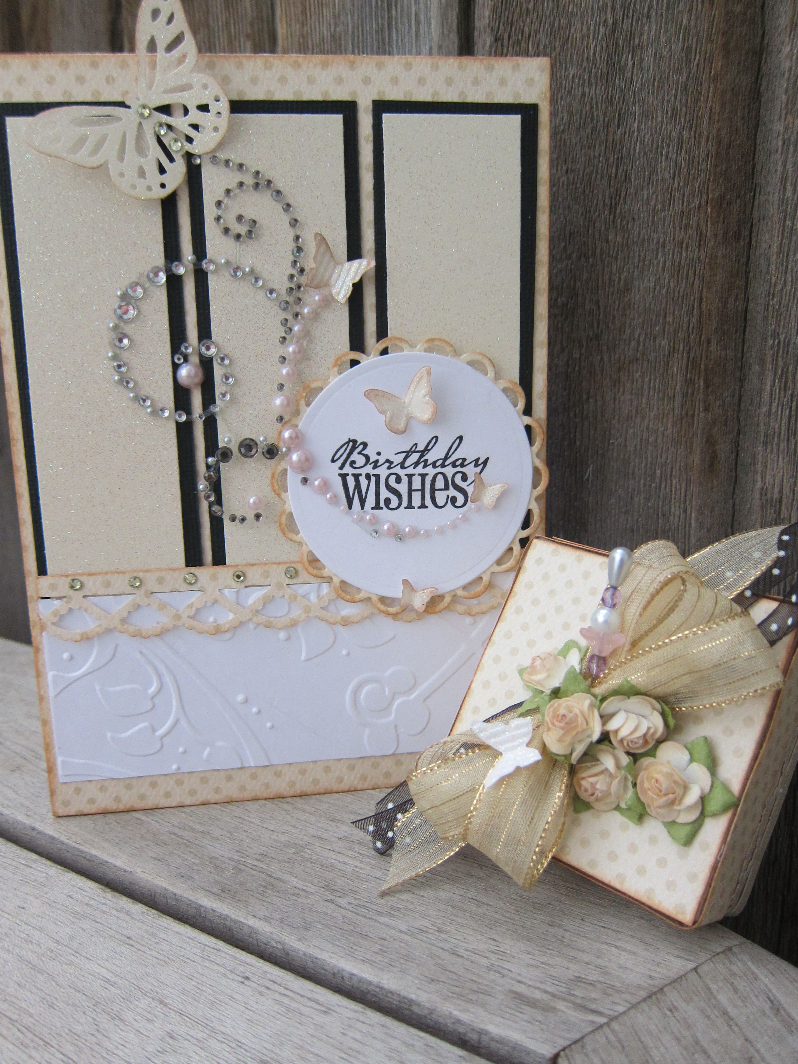 A special cardgift box for a 50th birthday for a special