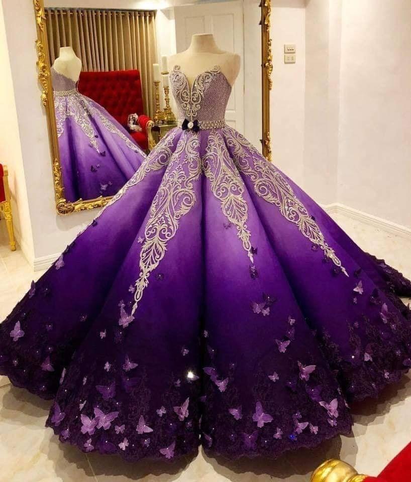 Que Lindooooo O En 2019 Vestidos Violetas Vestidos