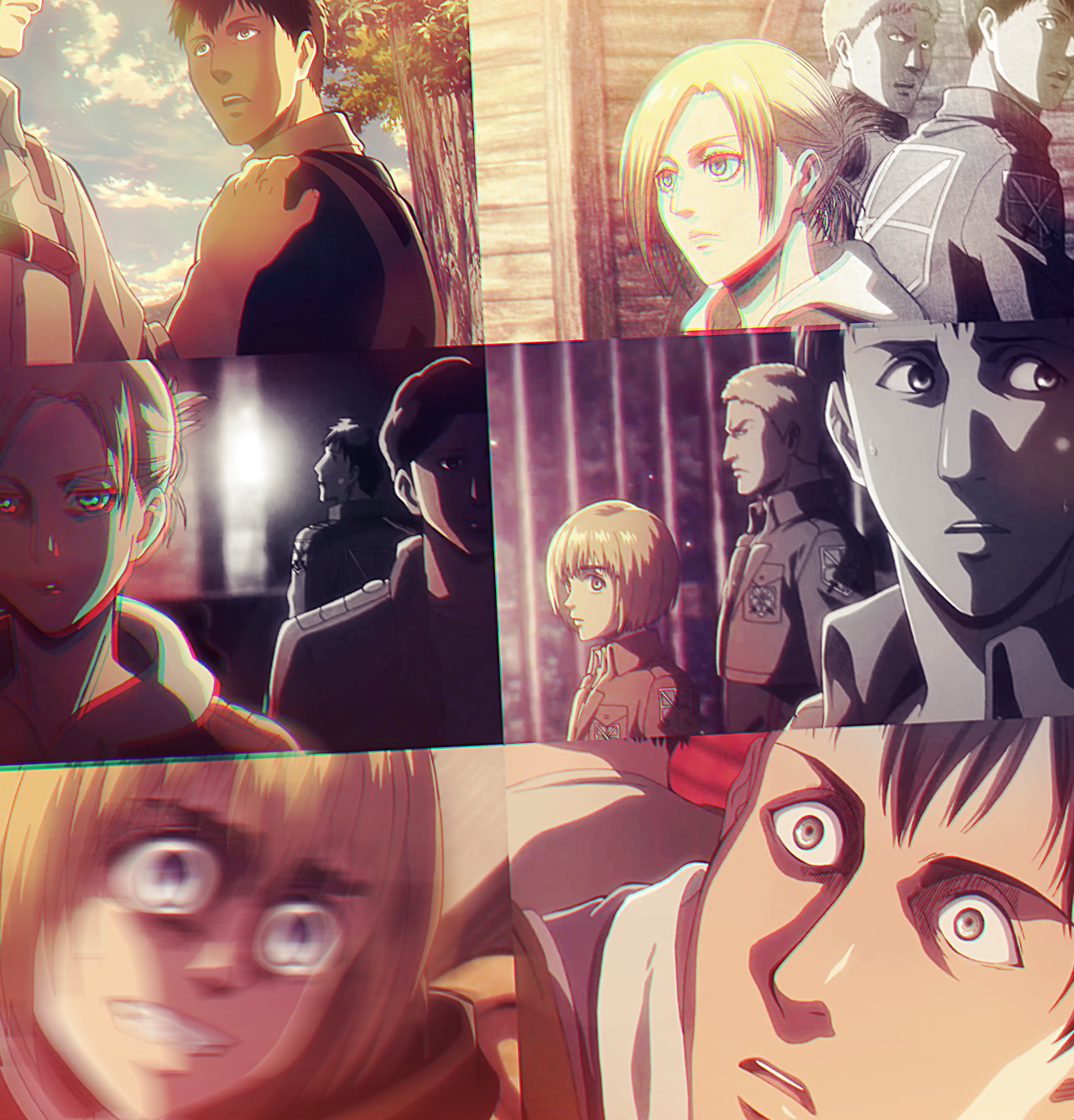Psychological Torture Bertholdt And Annie Attack On Titan