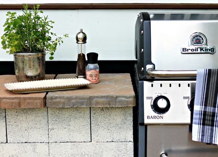 weekend diy grill station outdoor grill station grill station