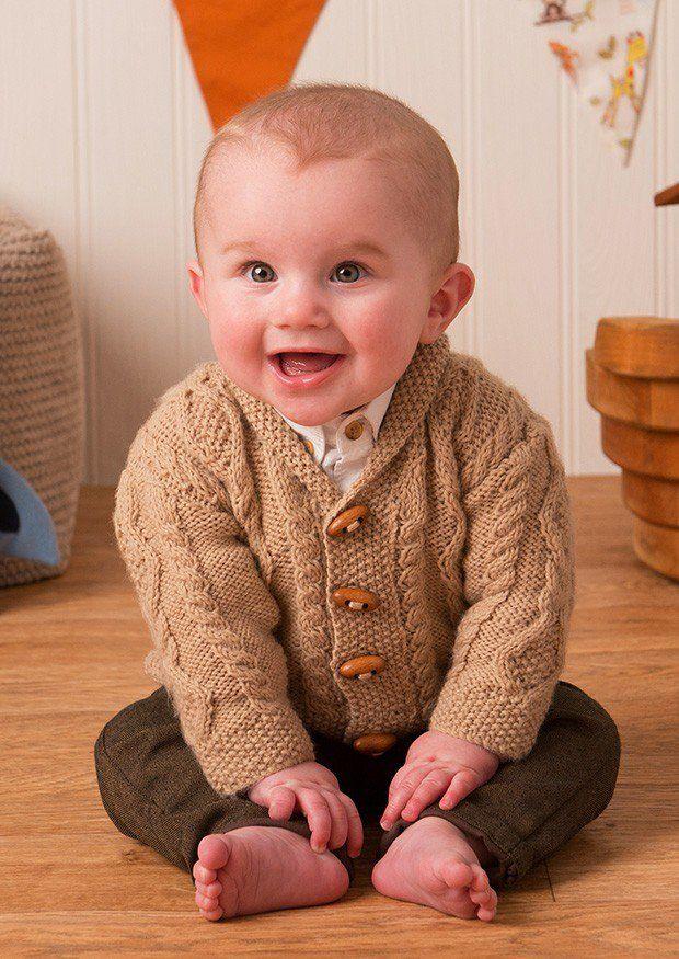 Jackets in Deramores Baby DK (1016) Digital Version | Deramores ...