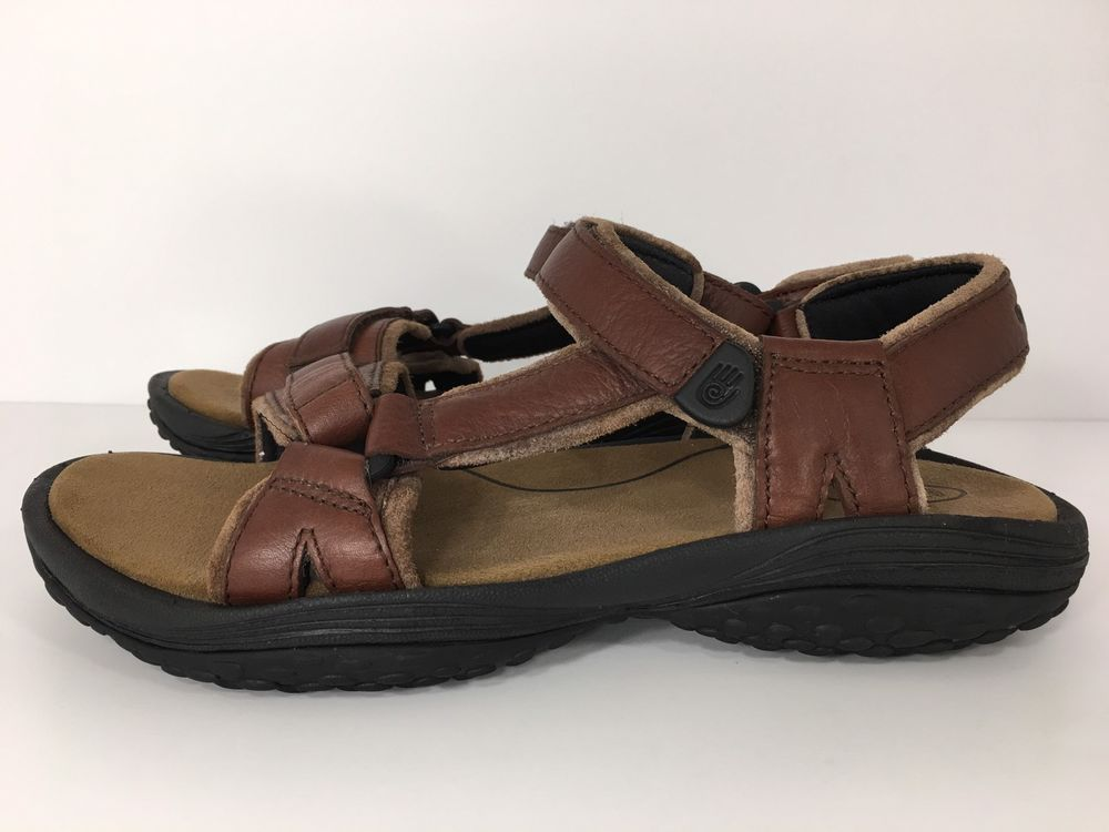 Pretty Rugged Leather Sport Sandals