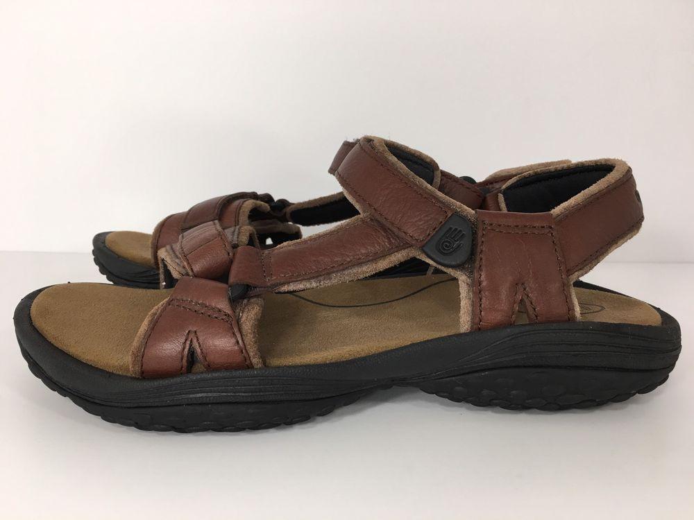 Teva Pretty Rugged Leather Sport Sandals Women S 6328 Size 8 M Eur 39 Ebay