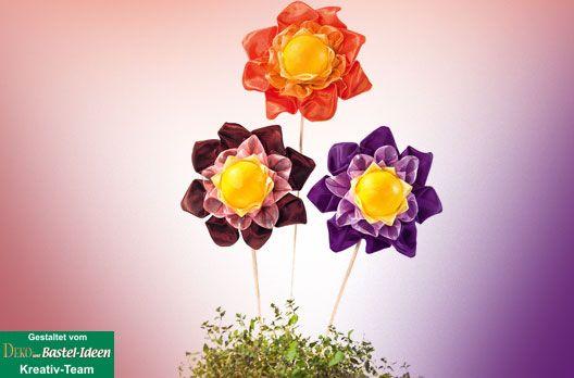 artichoke technik, Herrliche Blumen in Artischockentechnik