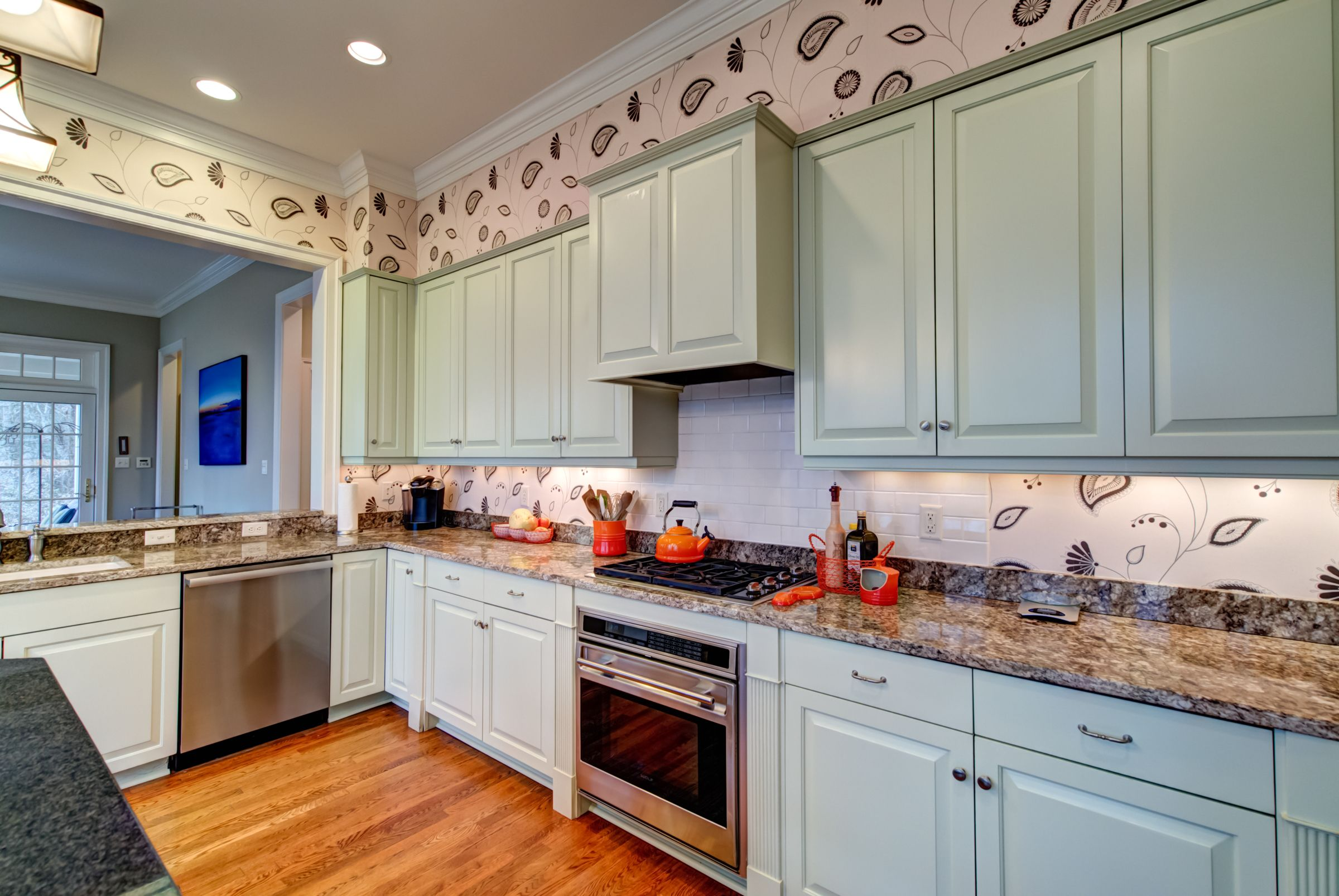 12430 Walnut Hill Drive: The Designer Gourmet Kitchen Of This Home In  Rockville, Virginia