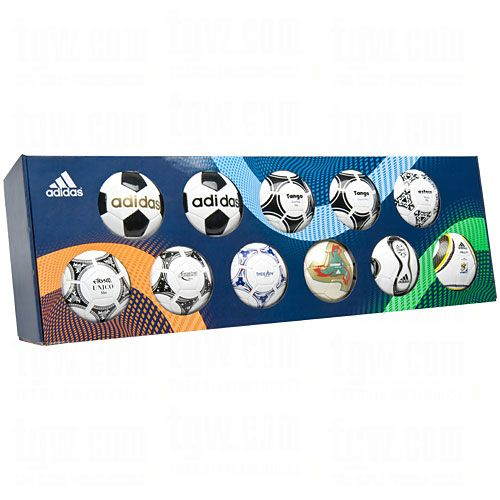 Adidas Historic Mini Soccer Ball Set Adidas Mini Soccer Balls World Cup Soccersavings Com Soccer Gear Soccer Soccer Store