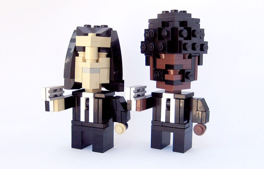"""The Lego version of Quentin Tarantino's """"Pulp Fiction"""" movie!"""
