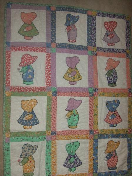 Sun Bonnet Sue Project On Craftsy Com Quilts Quilt Patterns Sunbonnet Sue