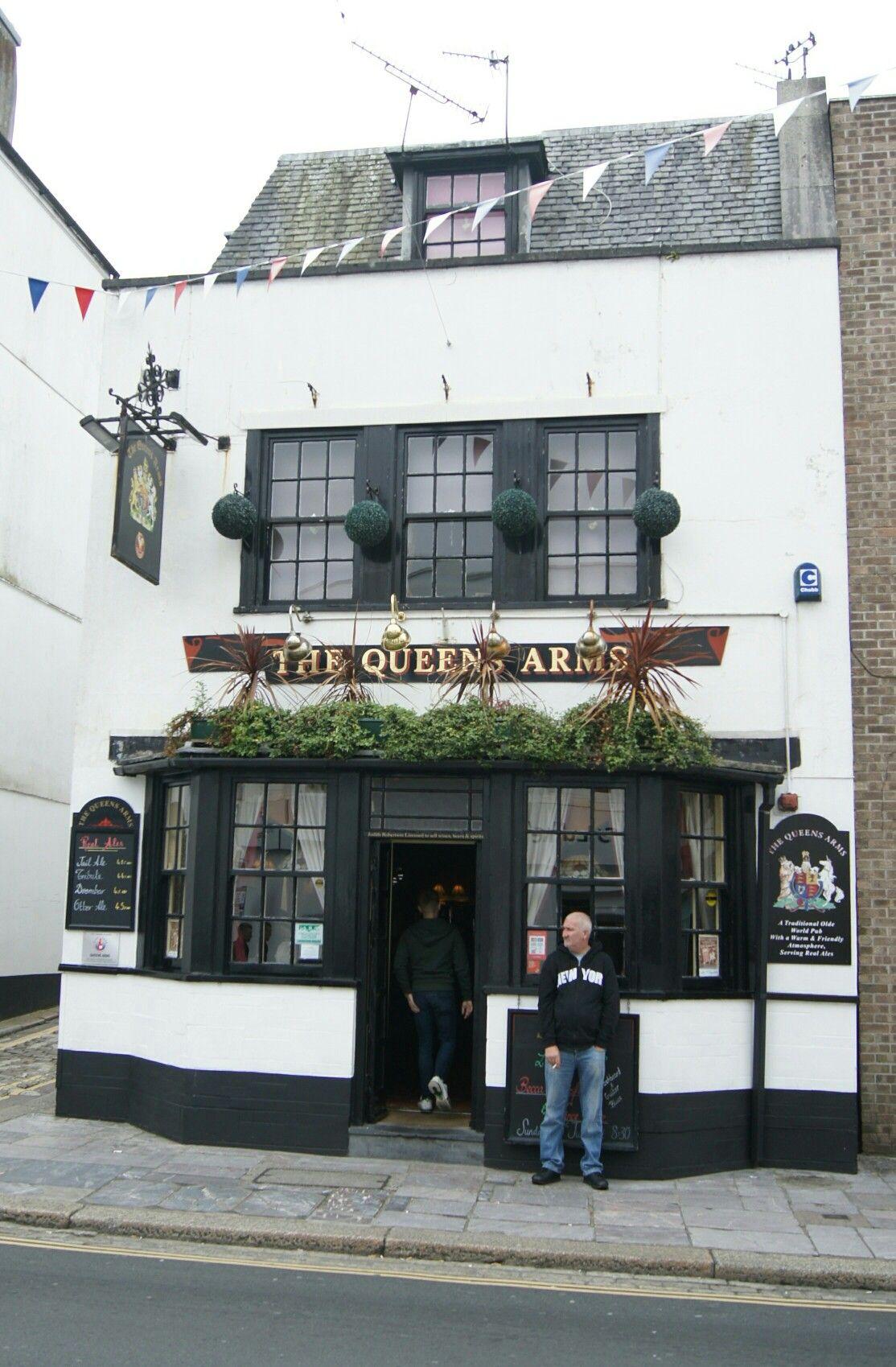 The Queens Arms The Barbican Devon Uk Devon England British Pub