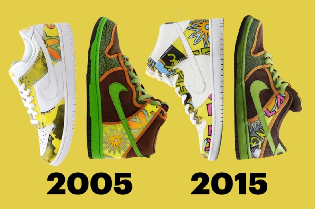7ea264488fb54f 2 Feet High and Rising  The  De La Soul  Nike Dunk SB Is Back