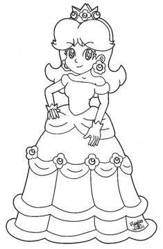 Prenses Boyama Sayfasi Boyama Sayfalari Prenses Cizimler