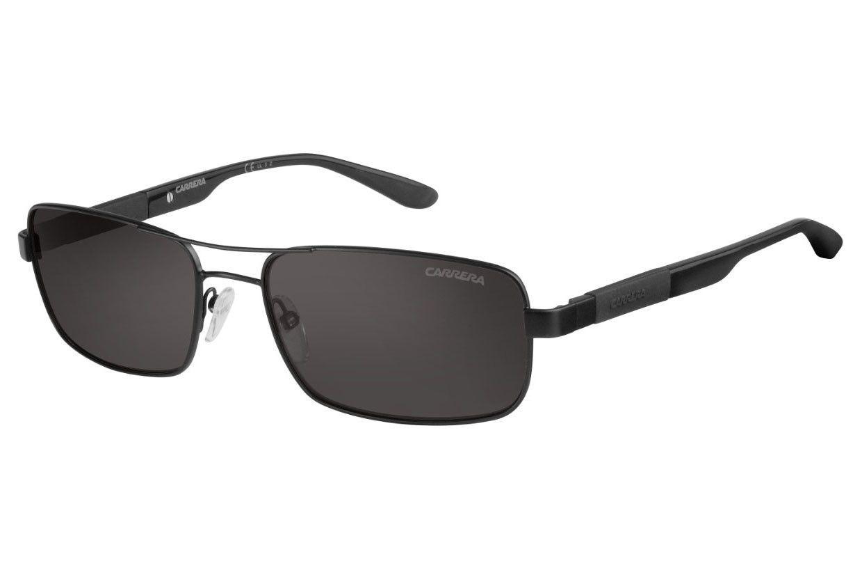 Carrera - 8018/S Matte Black Sunglasses, Gray Polarized Lenses