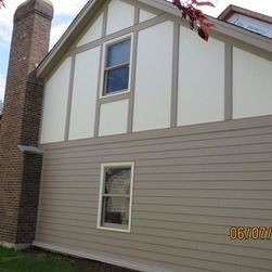 Stucco Siding With Hardie Board Google Search Exterior Remodel House Exterior Stucco Siding