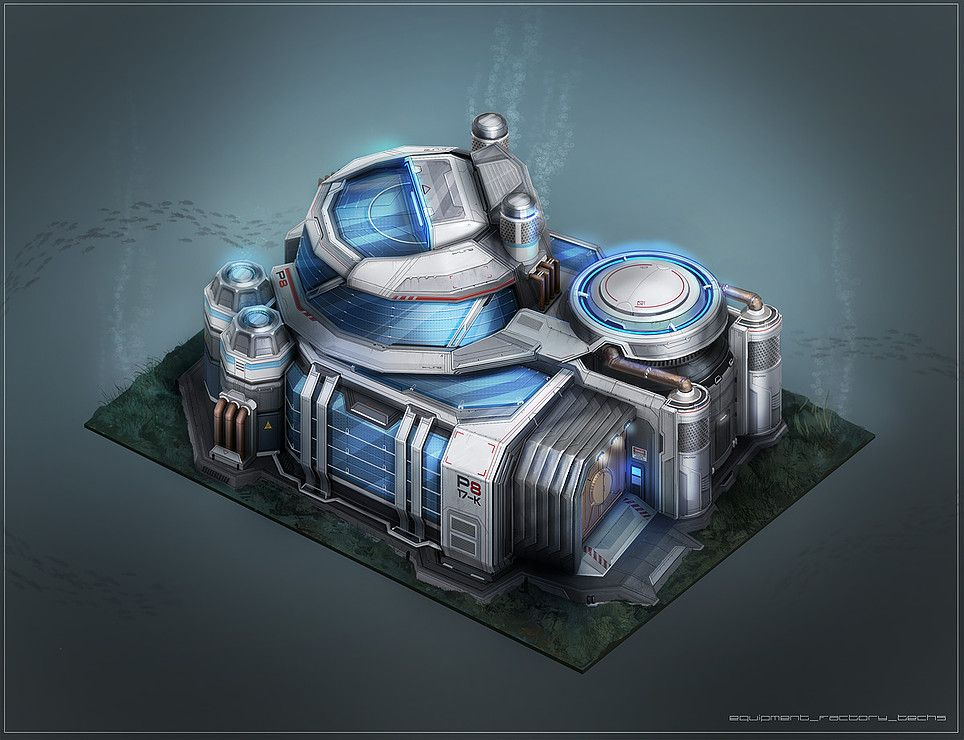 Tobias frank concept art illustration anno 2070 for Anno 2070 find architect