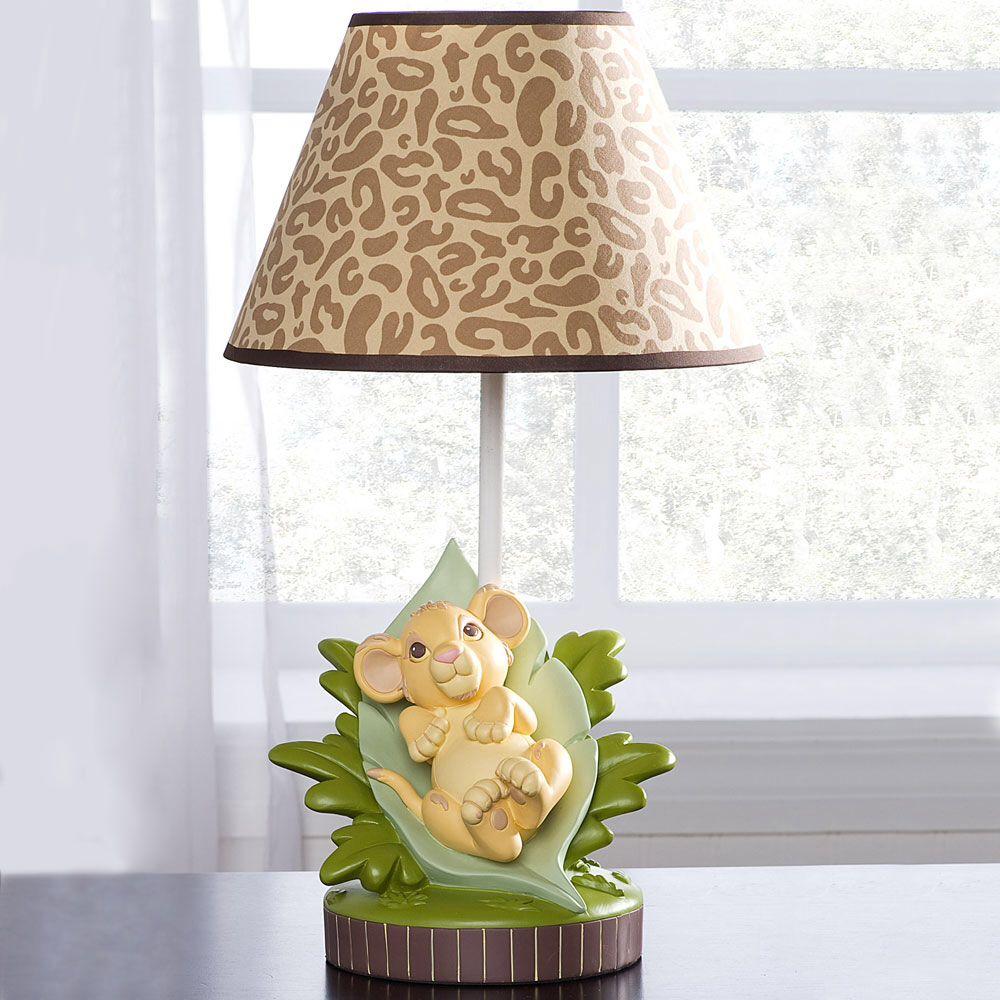 Simba Lamp Lion King Baby Shower Lion King Nursery Lion King