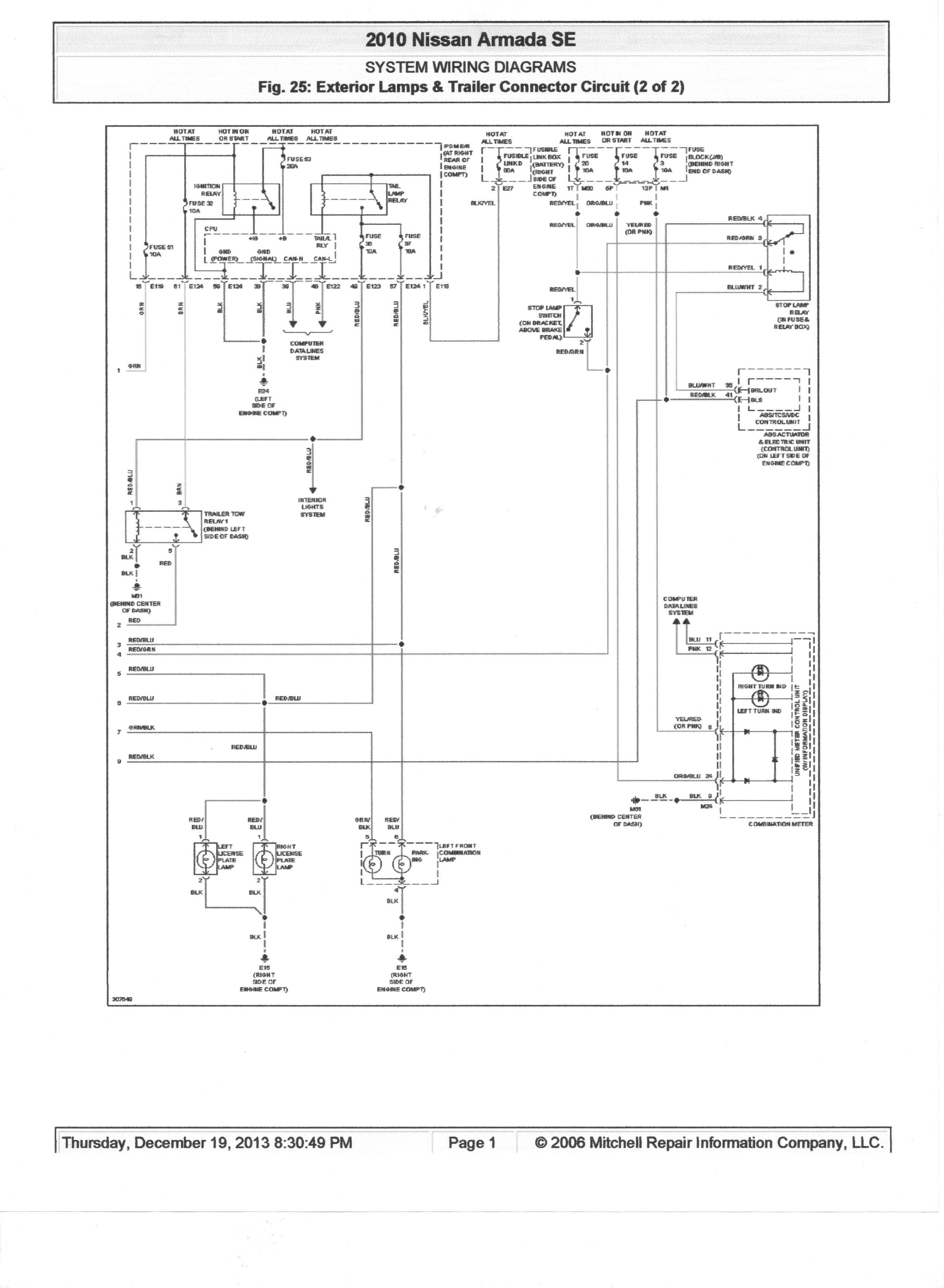 New Trailer Wiring Diagram Running Lights Diagram