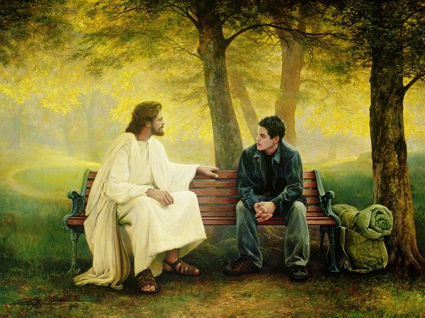 See all the 15 pics of Jesus given above. Each of them comes along with a question, right from Jesus' mouth. Here are the questions He asks, in the same order of the pics. Jesus asks:-