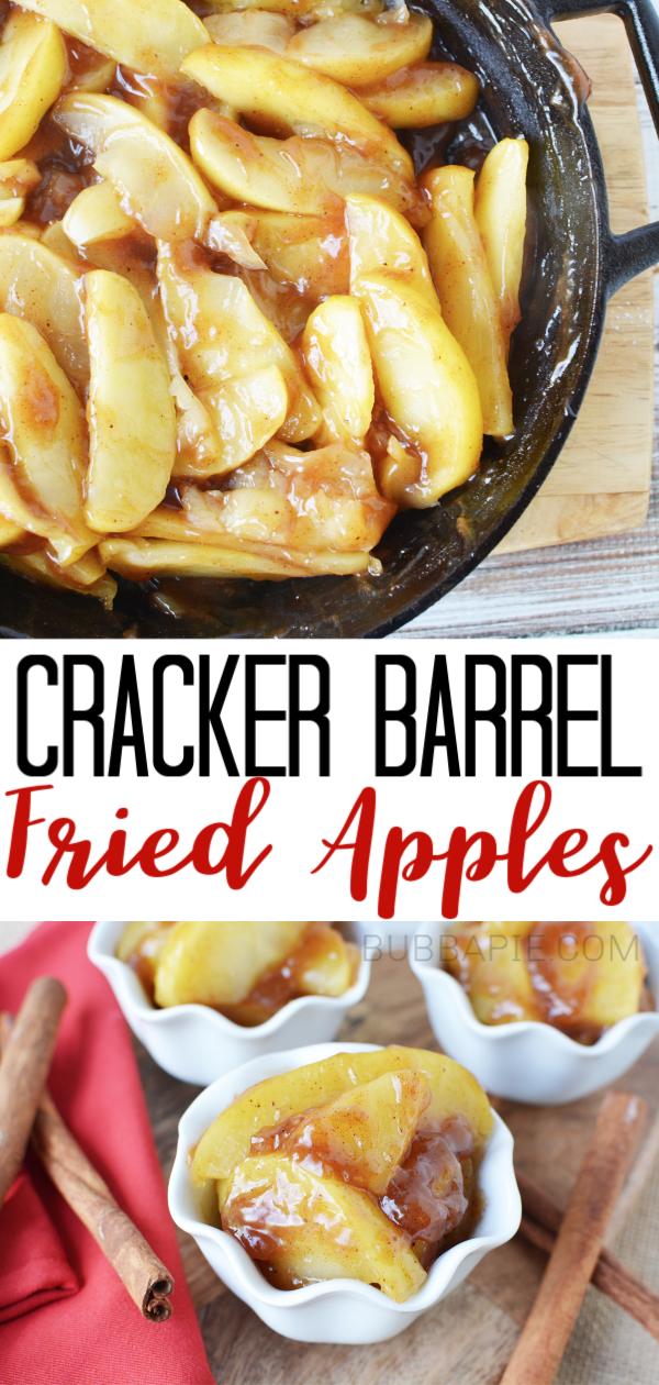 Photo of Easy Copycat Cracker Barrel Fried Apples Recipe – BubbaPie