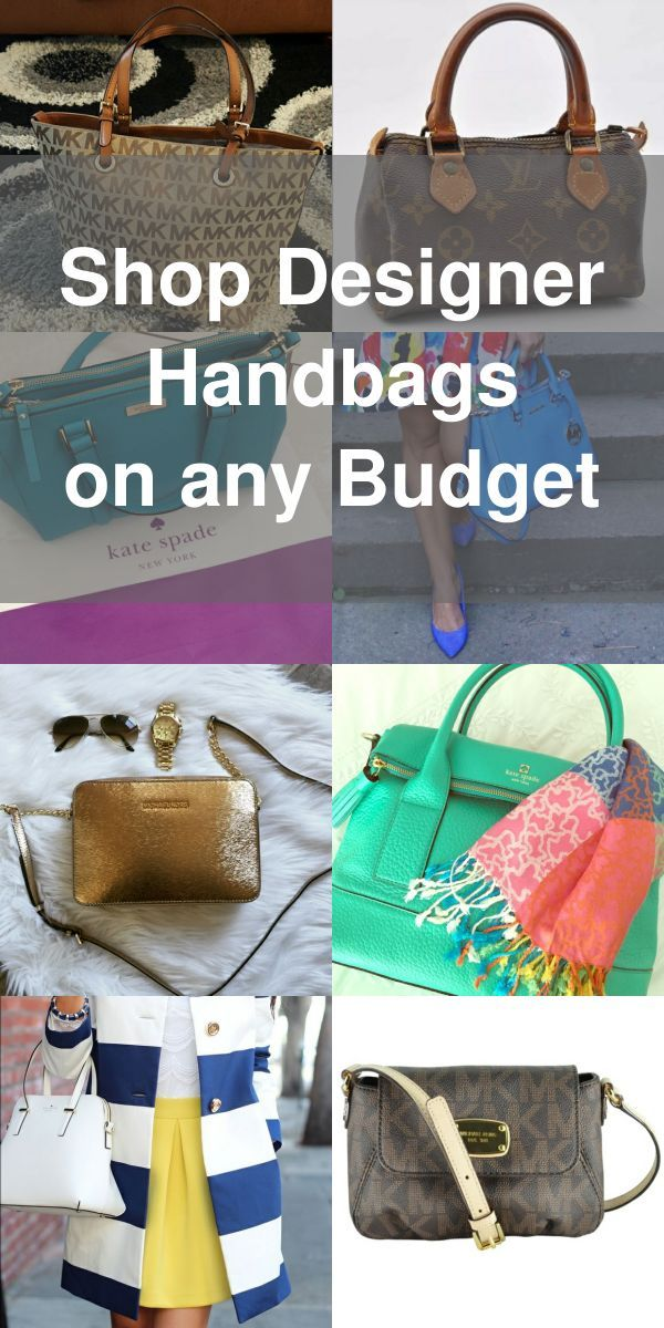 Designer Handbags From Top Brands Like Kate Spade Louis Vuitton Michael