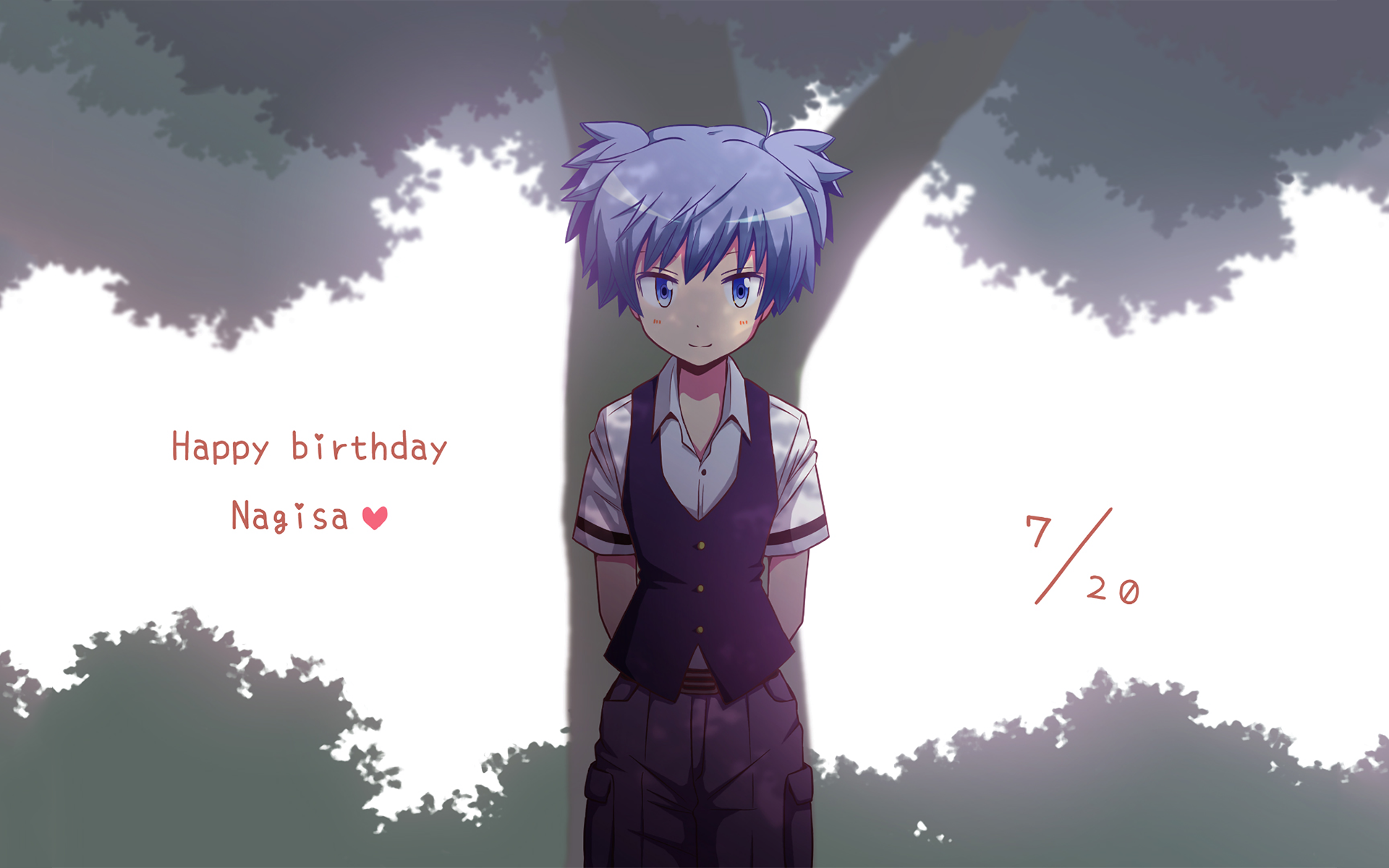 Anime Assassination Classroom Nagisa Shiota Wallpaper