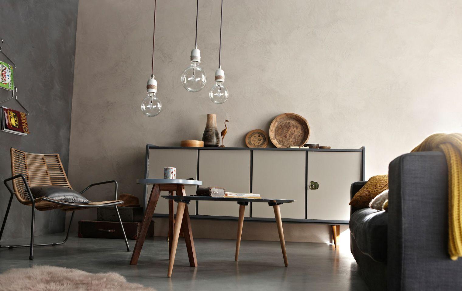 r sultat de recherche d 39 images pour peinture effet industriel taupe maison pinterest. Black Bedroom Furniture Sets. Home Design Ideas