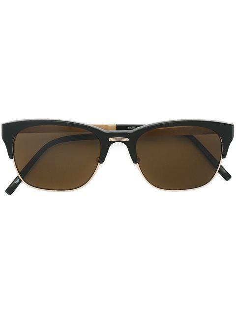 MATSUDA Square frame sunglasses M55LY
