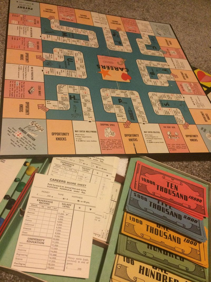 A Collection of Your Most Incredible Vintage Board Games