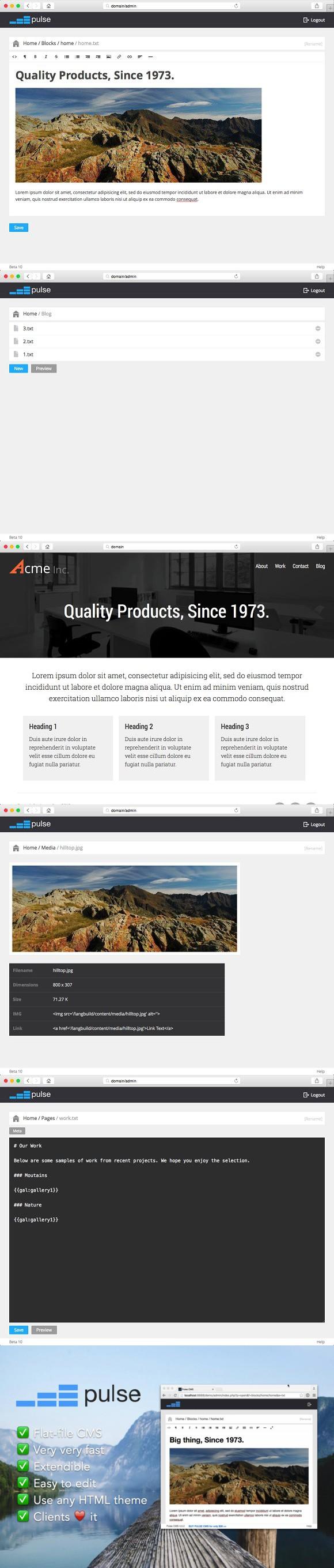 Pulse CMS. HTML/CSS Themes. $39.00 | HTML/CSS Themes | Pinterest