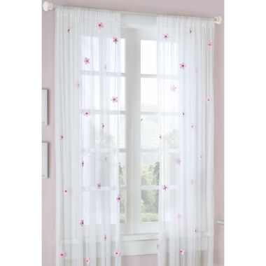 p\u003eEnliven your room with the cheerful blooms of the Lily sheer panel