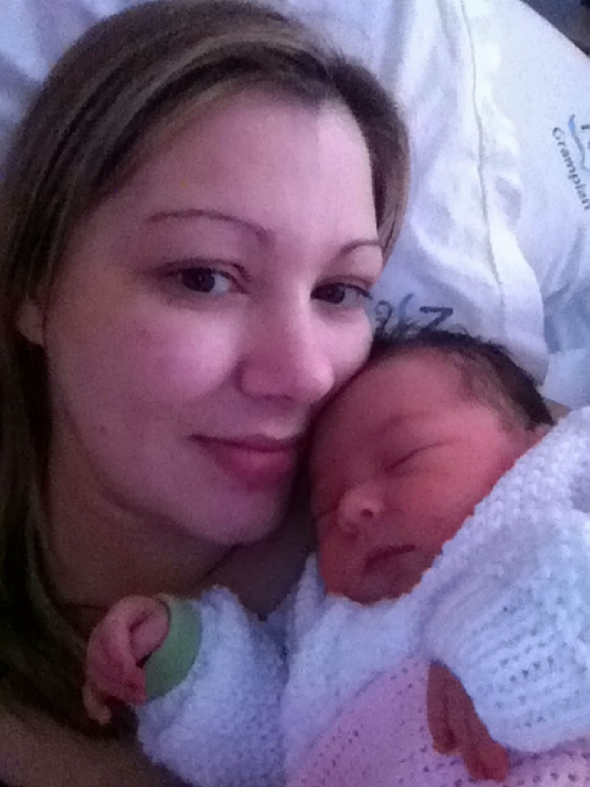 Mom recalls C-section horror when scar split days after ...