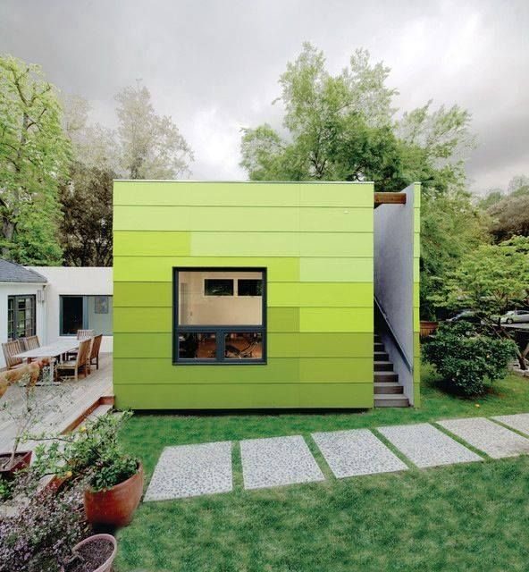 Superbe Urban Modz |   Not A Container   But Great Cladding On This Backyard Office