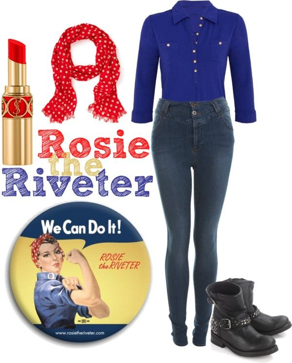 Halloween costume idea Rosie the Riveter Cute idea except this - creative halloween costumes ideas