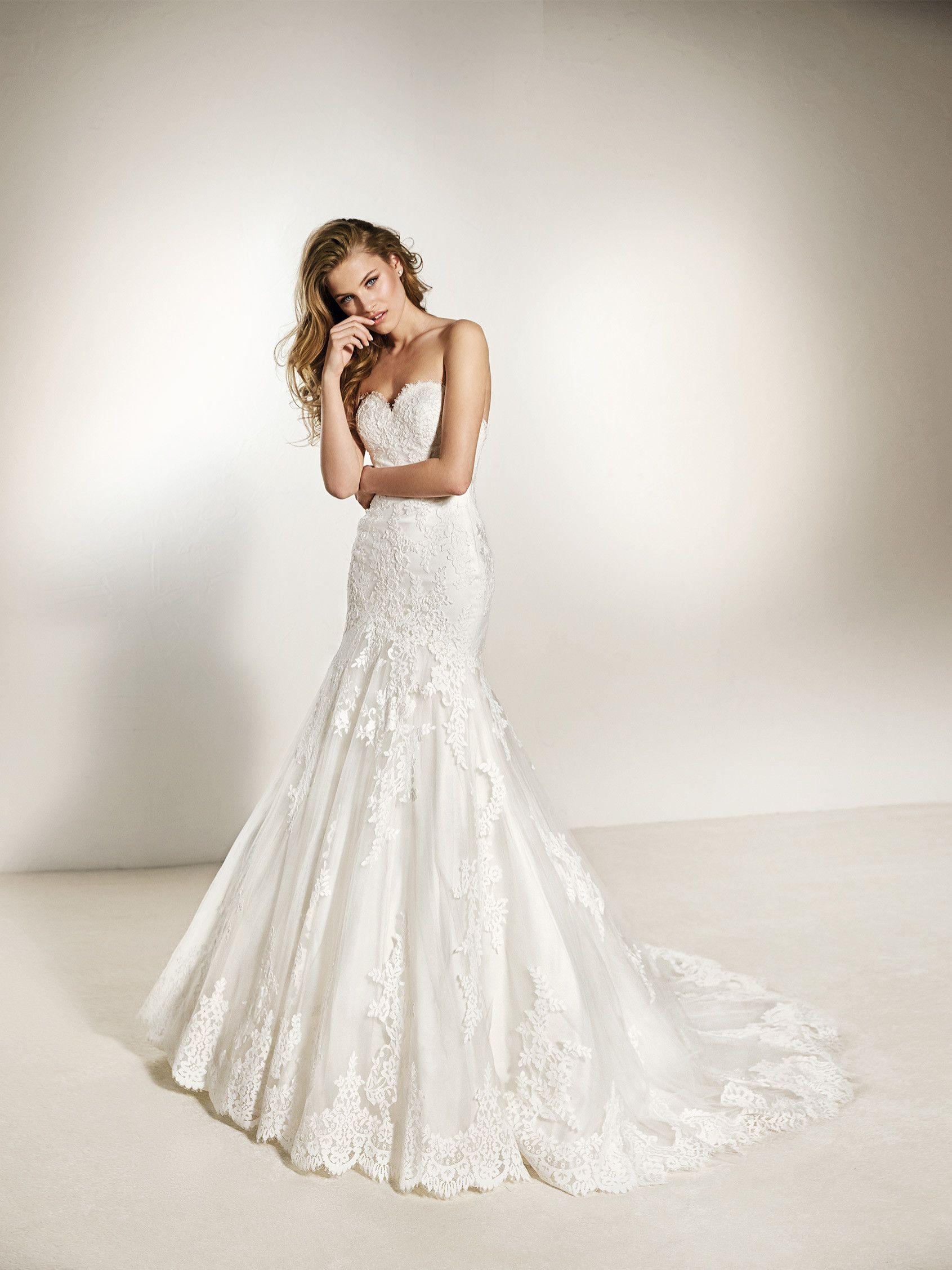 Wedding Dress Feminine Ovias 2018 Collection