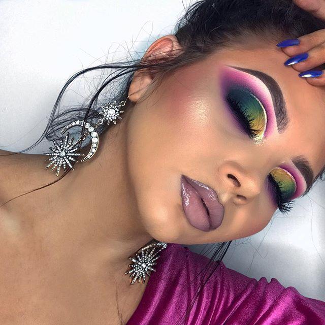 Pinterest Alexabom Colorful Makeup Bold Makeup Full