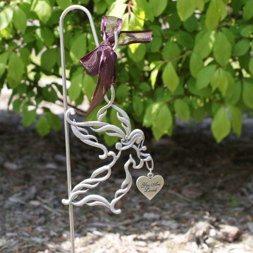 Personalized Memorial Angel Garden Stake