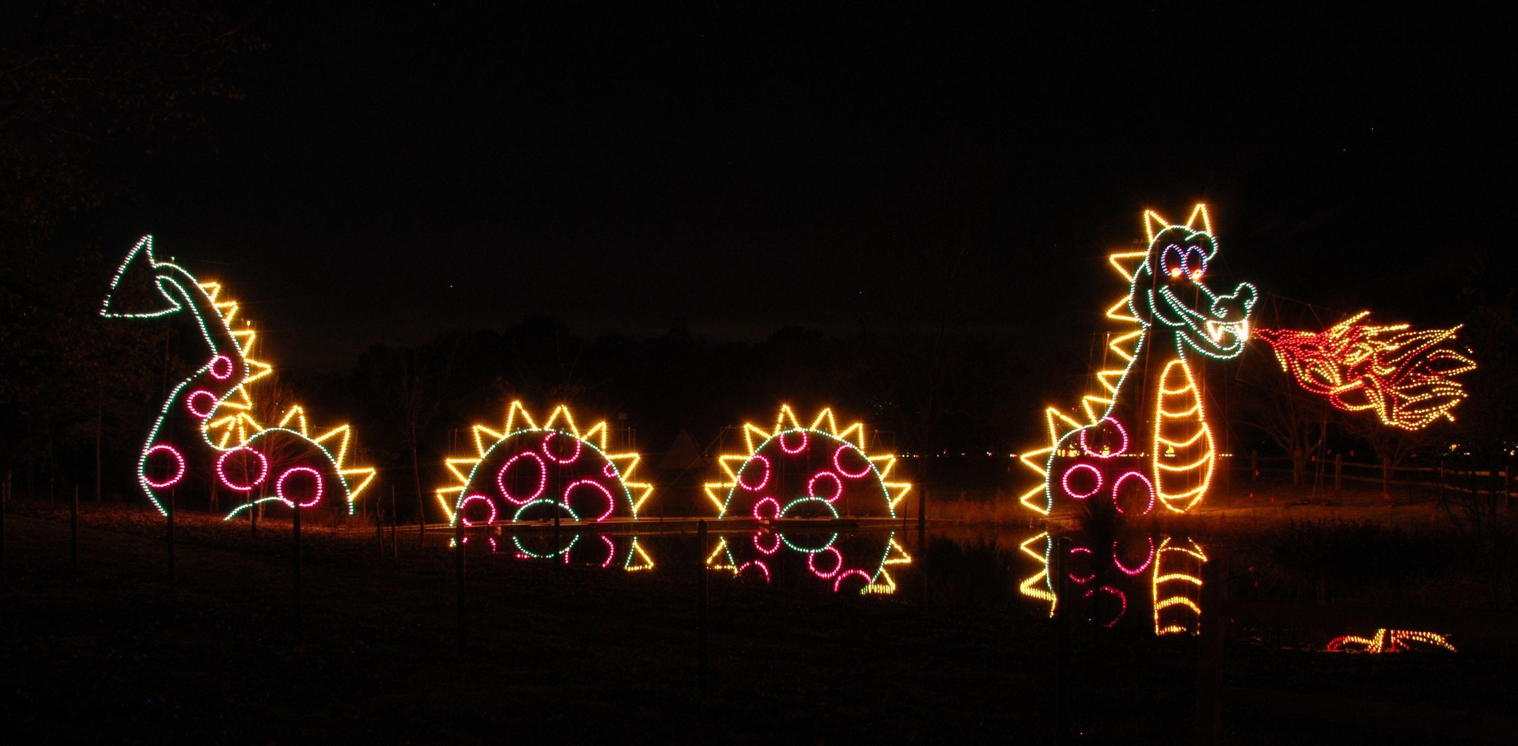 Dominion Garden of Lights at the Norfolk Botanical Garden | Norfolk ...