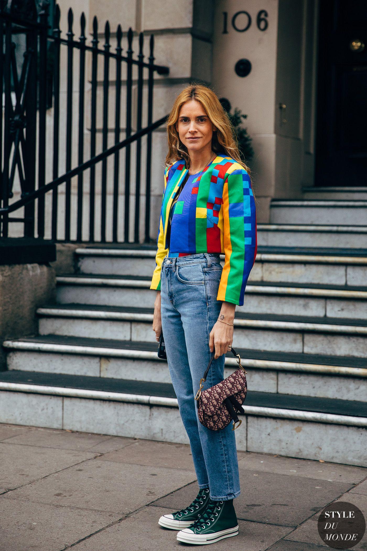 London FW 2019 Street Style: Blanca Miro
