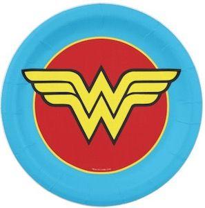 Wonder Woman Paper Plates httpwwwthlogcomwonderwomanpaper